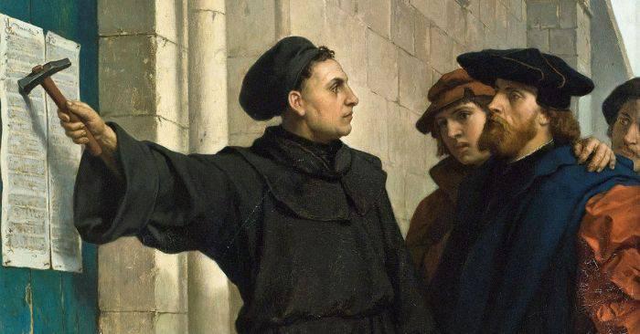 Curiozitati despre Martin Luther - Biserica