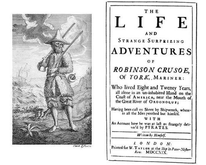 Daniel Defoe, Robinson Crusoe