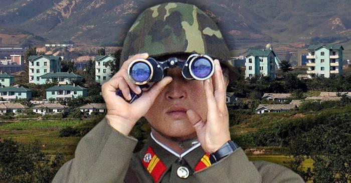 Kijong-dong, orașul fals construit de Coreea de Nord ca să stârnească invidia celor din sud