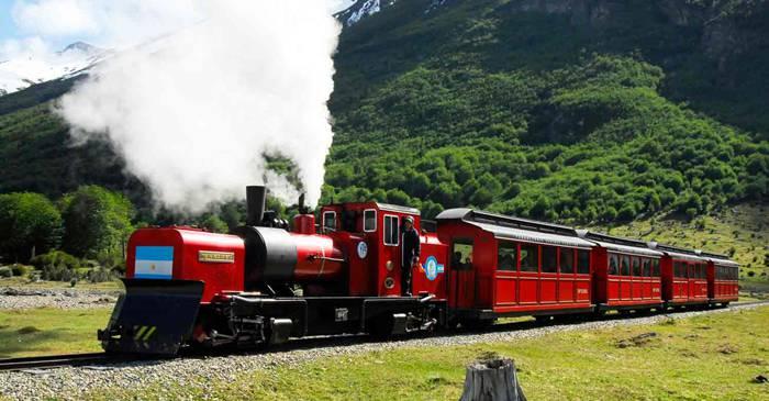 Trenul spre capătul lumii cea mai sudică linie ferată de pe Terra