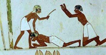 """""""Umple sacul sau primești bătaie!"""" Plata impozitelor în Egiptul Antic"""