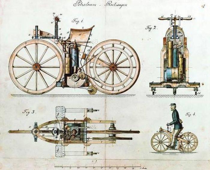 Brevet Daimler Reitwagen