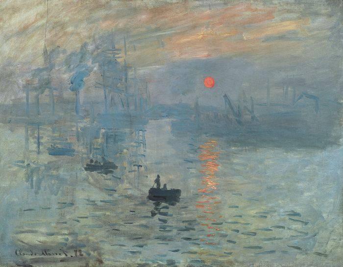 Curiozitati despre Claude Monet - Impresie