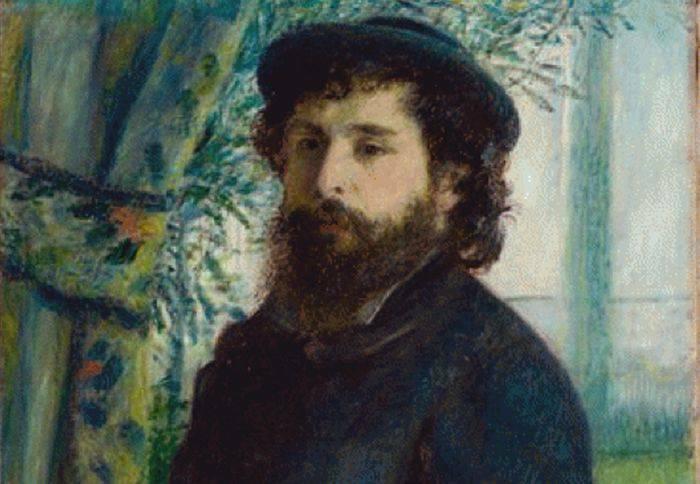 Curiozitati despre Claude Monet - Portret