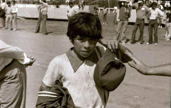 Curiozitati despre Maradona - copilarie