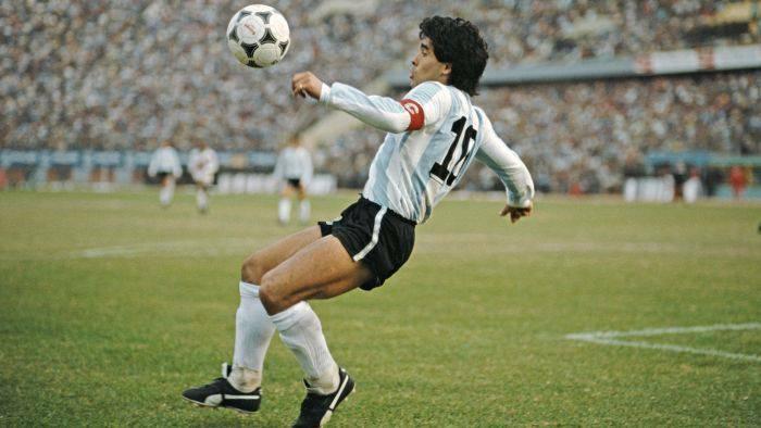 Curiozitati despre Maradona - echipa nationala