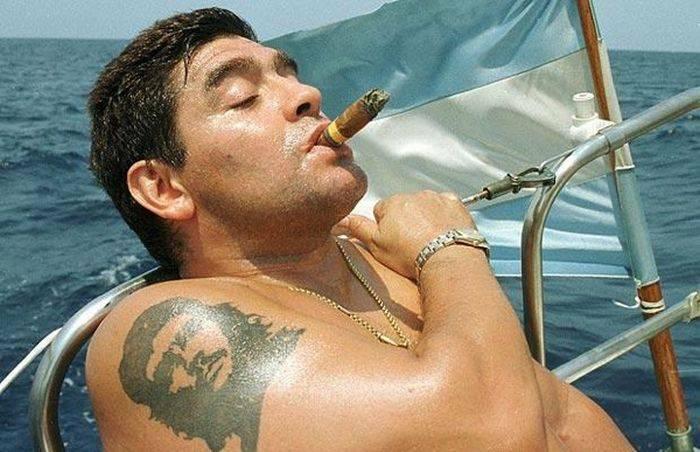 Curiozitati despre Maradona - tatuaj