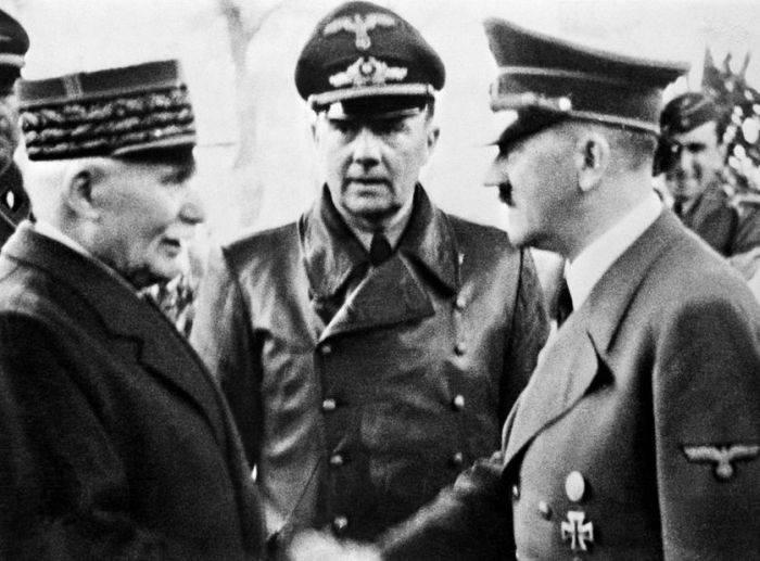 Petain si Hitler