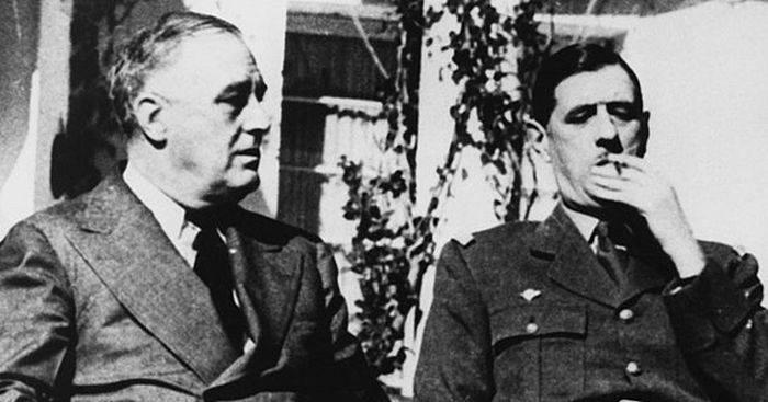 Roosevelt si de Gaulle