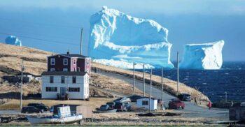 """Aleea Aisbergurilor, splendidul """"teren minat"""" unde s-a scufundat Titanicul"""