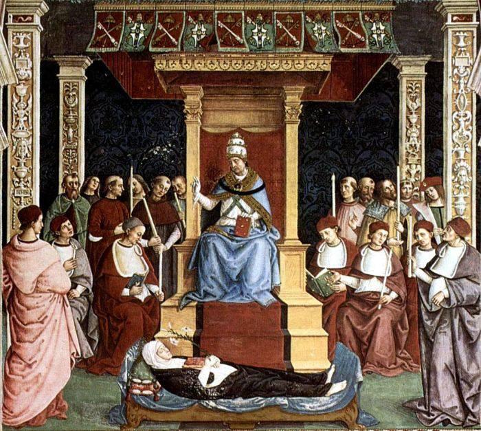 Avocatul diavolului canonizare