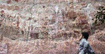 Capela Sixtină a anticilor, enigmaticele picturi descoperite în pădurea amazoniană