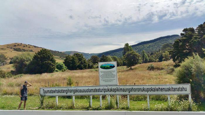 Curiozitati despre Noua Zeelanda - Nume lung