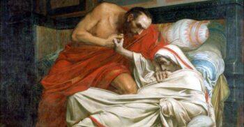 """Împăratul roman Tiberius, """"cel mai trist dintre oameni"""""""