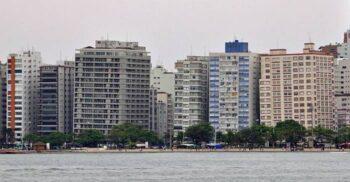 Santos, orașul blocurilor înclinate din cauza lăcomiei constructorilor