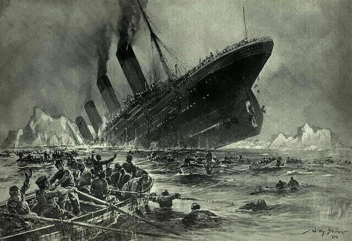 Scufundarea Titanicului