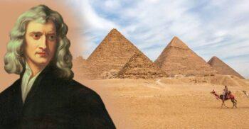 Tentativa lui Isaac Newton de a descifra codul secret al piramidelor