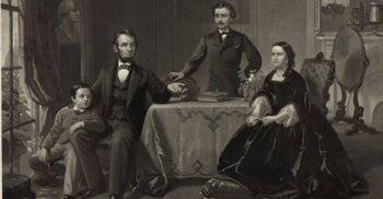 Abraham Lincoln și Mary Todd, cuplul care a practicat spiritismul la Casa Albă