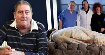 Alan Billis, pensionarul britanic mumificat precum Tutankhamon