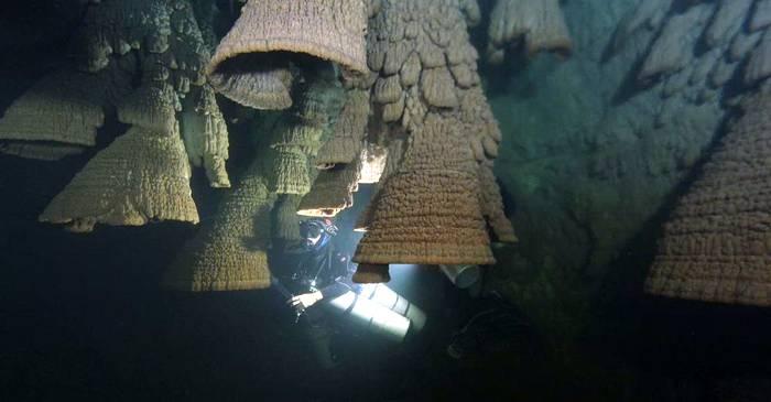 Clopotele iadului, uimitoarele stalactite subacvatice din Mexic featured_compressed