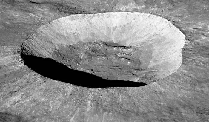 Craterul Giordano Bruno