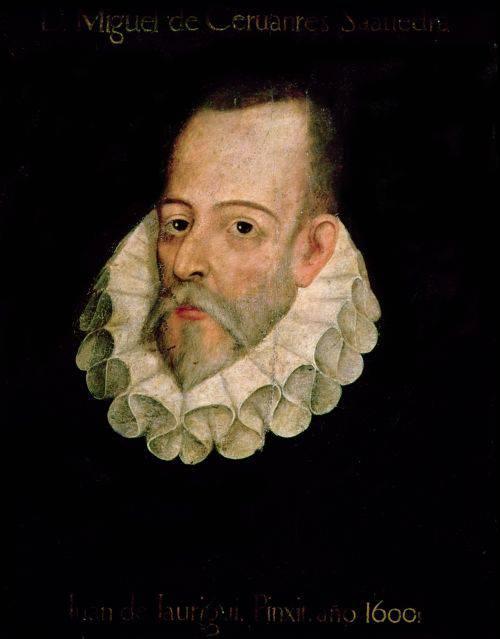 Curiozitati despre Cervantes - Portret
