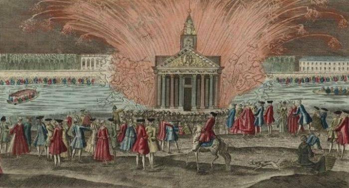 Curiozitati despre Ludovic al XVI-lea - Artificii