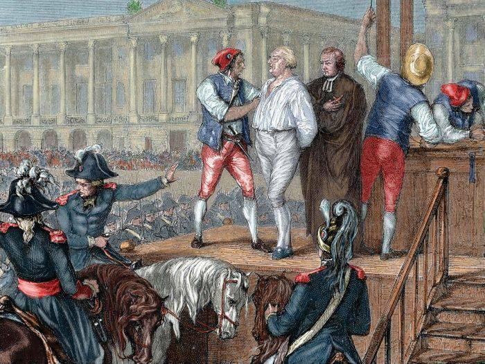 Curiozitati despre Ludovic al XVI-lea - Executie