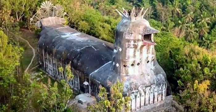 Gereja Ayam, Biserica Găină construită în jungla din Indonezia featured_compressed