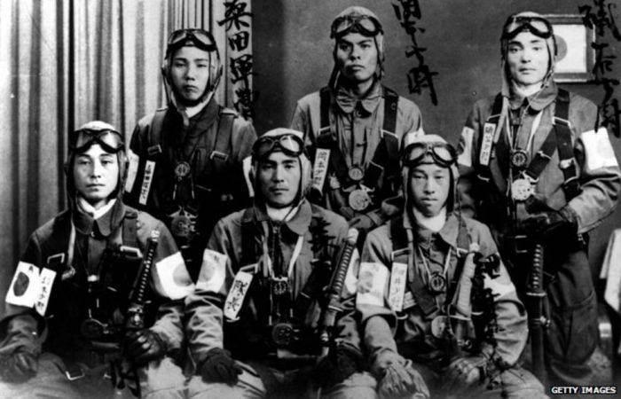 Piloti kamikaze