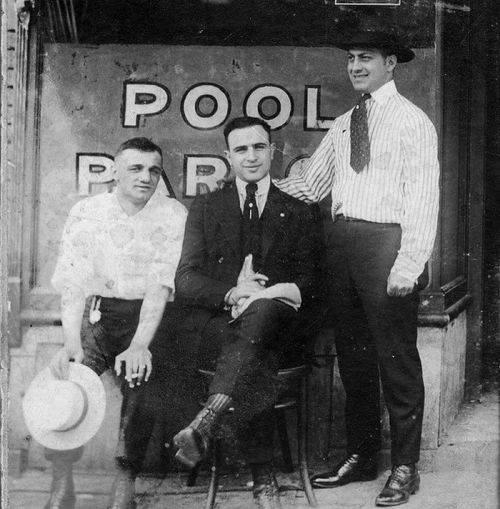 Al Capone in tinerete