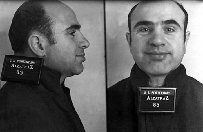 Al Capone la Alcatraz