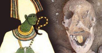 Arheologii din Egipt au descoperit o mumie cu limbă de aur, veche de 2.000 de ani