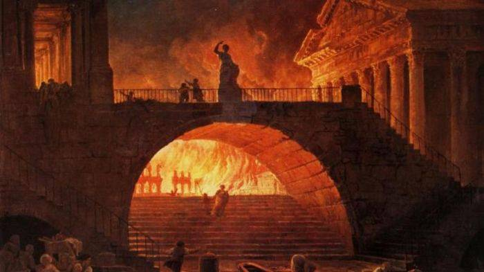 Garda Pretoriana incendii
