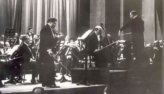 George Enescu in concert