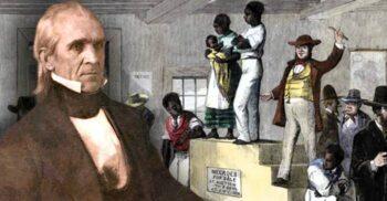 James Polk, președintele SUA care avea copii sclavi pe plantație