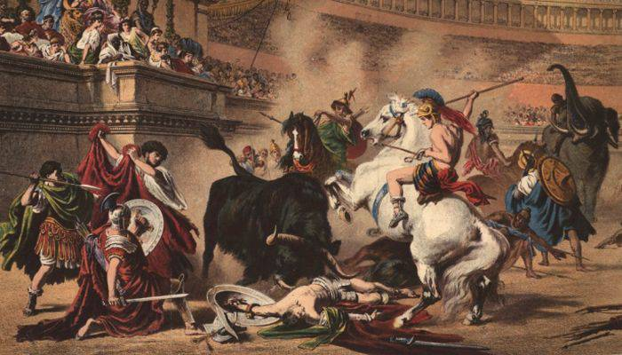 Jocurile romanilor