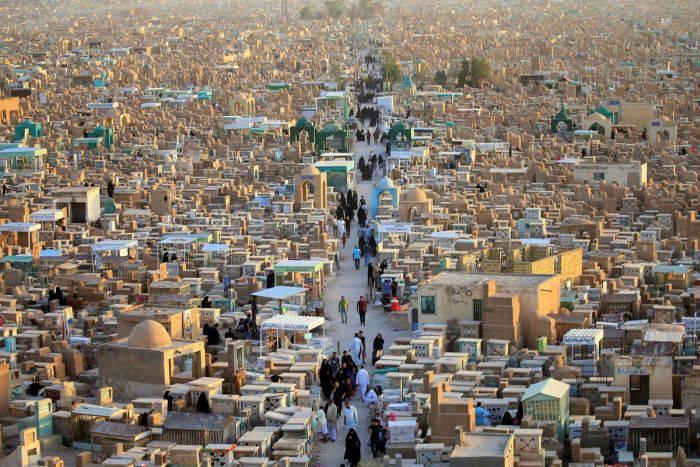 Wadi-us-Salaam, cel mai mare cimitir din lume