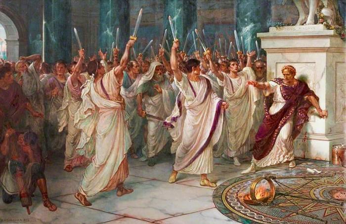 Asasinarea lui Iulius Cezar 02