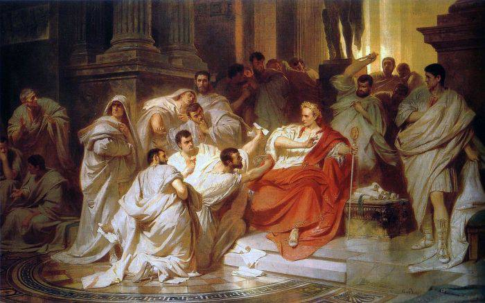Asasinarea lui Iulius Cezar 03