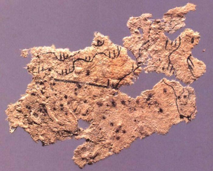 Fragment hartie