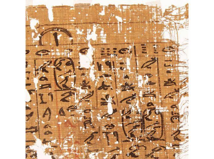 Fragment papirus