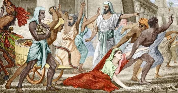 7 dintre cele mai bizare morti celebre din Antichitate