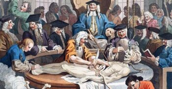 """Amfiteatrele anatomice, """"arenele"""" unde chirurgii realizau disecții publice"""