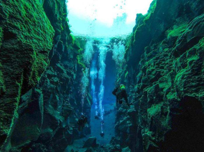 Curiozitati despre Islanda - Silfra 02