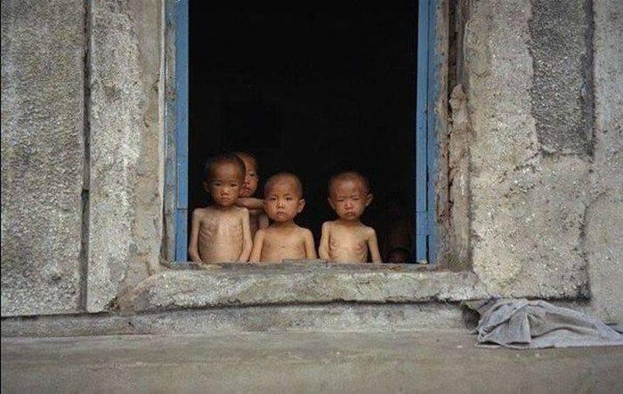 Foametea din Coreea de Nord
