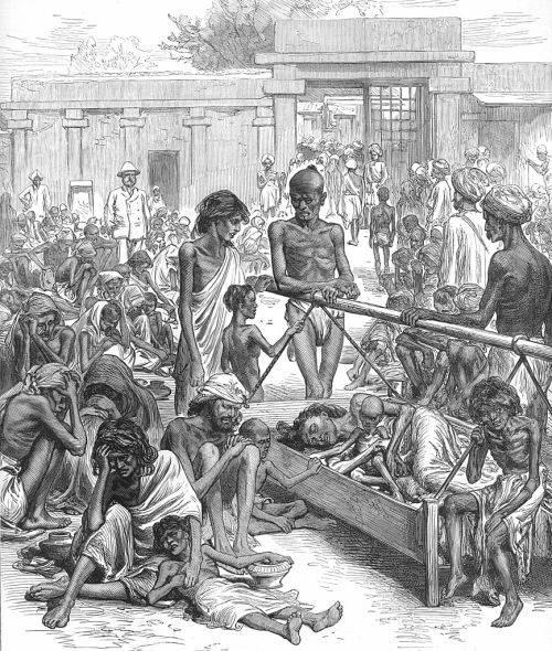 Foametea din India