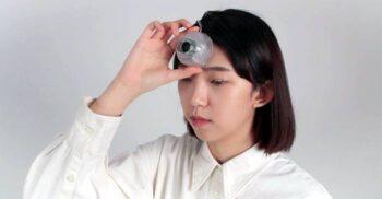 Al treilea ochi, dispozitivul creat pentru cei care se uită la telefon în timp ce merg pe stradă