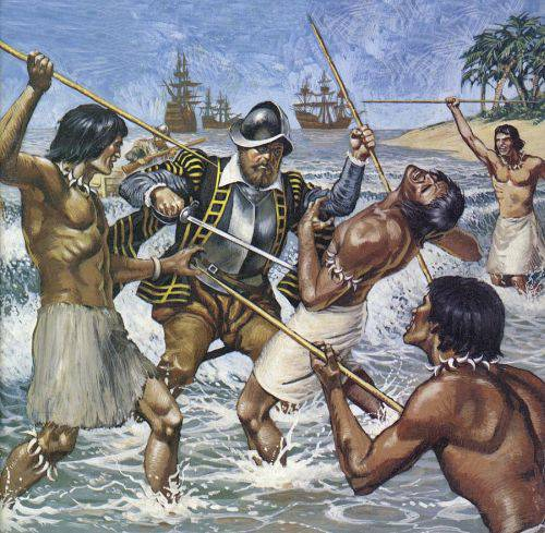 Moartea lui Fernando Magellan