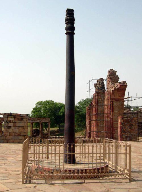 Pilonul de fier din Delhi